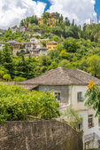 View at houses in Gjirokaster — ストック写真