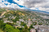 View at the old city of Gjirokaster — ストック写真