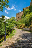 Path to the Gjirokaster castle — ストック写真