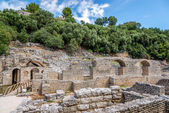 Complex the sanctuary of Asclepius — Stock Photo