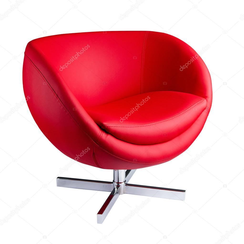 Silla moderna roja foto de stock loverpower 26890269 for Sillas rojas modernas