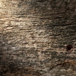 Stock Photo: Harsh lighten weathered wood plank