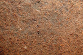 Corroded iron plate background — Stock Photo