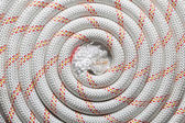 Roll of rope background — Stock Photo