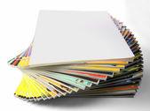 Cockling pile of magazines — Stockfoto