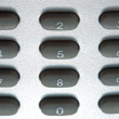 Digital grey keypad — Stock Photo