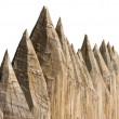 Stock Photo: Ancient wooden fence
