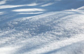 Snowbank — Stock Photo