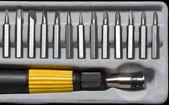 Bit e manico del cacciavite — Foto Stock