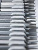 Skruvmejsel utbytbara bits toolkit — Stockfoto