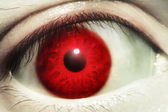 Red Blood Eye — Stock Photo