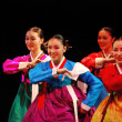 Stock Photo: Performance of BusKoretraditional dance at theatre