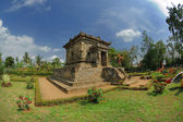 View of Badut Temple beside garden — Stock Photo