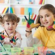 Child Painting — Stock Photo #29573395