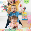 Child Painting — Stock Photo #29573403