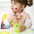 Child Painting — Stock Photo #29573407