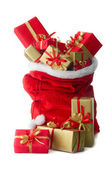 Santa's sack — Stock Photo