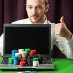 Poker Online — Stock Photo
