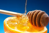 Honey and Orange — Stock Photo