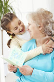 I Love You Grandma — Stock Photo