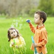 Blowing Bubbles — Stock Photo #29832611