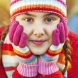 Stock Photo: Winter portrait