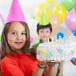 Foto Stock: Birthday party