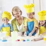 Little bakers having fun — Stock Photo #31118387