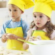 Little bakers — Stock Photo #31118435