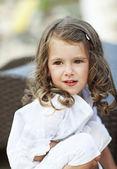 Summer portrait of little girl — Stock Photo