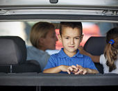 Traveling With Kids — Stock Photo