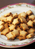 Star Shape Cookies — Stock Photo