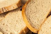 Scheiben frisches Brot. — Stockfoto