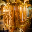 Big copper container for brewing. — Stockfoto