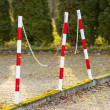 Street bollards to protection against accident. — Stock Photo #38241371