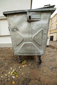Big trash basket with leftover food. — Stok fotoğraf