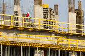Modern high-tech construction site. — Stock Photo