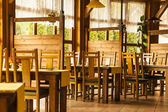 The interior of a restaurant. — Foto Stock