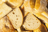 Slices of bread and other baked goods — Stockfoto
