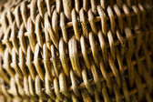 Fragment of wicker basket. — Stock Photo