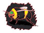 Bumble bee — Vecteur