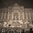 Fontata di Trevi,Rome — Stock Photo