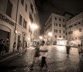 在罗马的一夜 — 图库照片