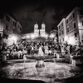 Rzymie, piazza di spagna — Zdjęcie stockowe