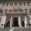 Palazzo Montecitorio in Rome — Stock Photo #27631141