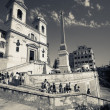 Spanish Steps in Rome — Stock Photo #27663503