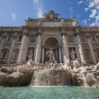 Trevi Fountain,Fontana di Trevi in Rome — Stock Photo