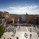 Spanish Steps in Rome — Stock Photo