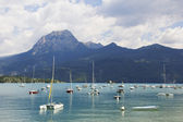 Lake of Serre Poncon in France — Stock Photo