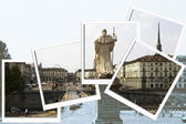Collage from Turin — Stock Photo